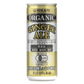 【ふるさと納税】ヒカリ オーガニックジンジャーエール 250ml×30缶