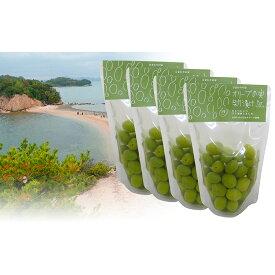 【ふるさと納税】オリーブの実新漬け 4袋詰合せ 【加工食品】 お届け:2021年10月下旬より順次発送