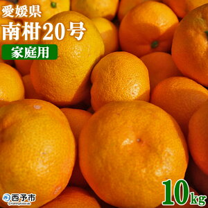 【ふるさと納税】先行予約<愛媛県産 温州みかん(南柑20号)家庭用 10kg(サイズ不揃い・小傷あり)> ※2021年11月中旬から12月末迄に順次出荷します。 訳あり 訳アリ 果物 ミカン 柑橘 フ