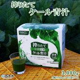 搾りたてケール青汁3,000g1箱(100g×15袋)×2