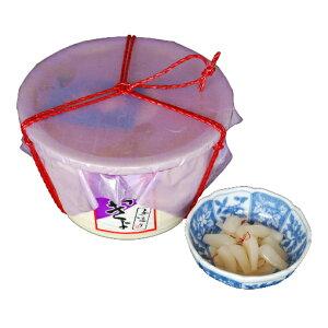 【ふるさと納税】ふるさとの味 国産らっきょ 1kg 【発酵食品・漬物・・らっきょう・樽入り】