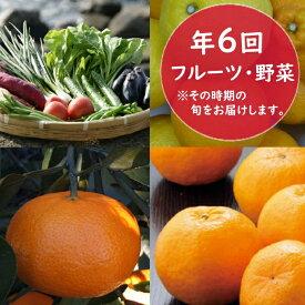 【ふるさと納税】RK020フルーツ・野菜年6回定期便(11月〜4月)