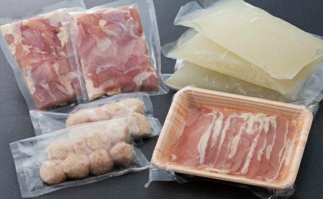 【ふるさと納税】AG−04土佐はちきん地鶏の鶏しゃぶ&鶏鍋堪能セット