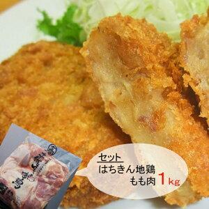 【ふるさと納税】はちきん地鶏もも肉カットと鰹コロッケ詰め合わせセット<AG023>