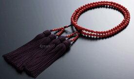 【ふるさと納税】【特級】赤珊瑚本連数珠(約6mm玉使用) 送料無料 <KN011>
