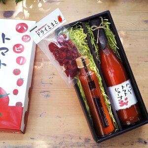 【ふるさと納税】3点セット無添加濃厚トマトのジュース&ドレッシング&ドライトマト