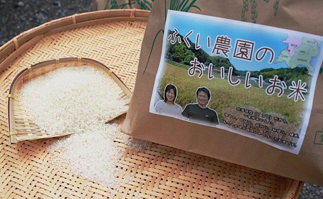 【ふるさと納税】[C-024017]【定期便】ふくい農園のおいしいお米(コシヒカリ)4kg×2袋 6回お届け