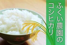 【ふるさと納税】【新米】ふくい農園のおいしいお米(コシヒカリ10kg)