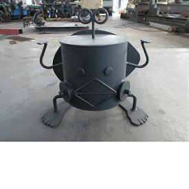 【ふるさと納税】【AL-1】ロボット型七輪 しち衛門
