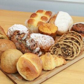 【ふるさと納税】パン 送料無料 セット 約6〜10個国産小麦とバターを使った パンいろいろ詰合せ1回