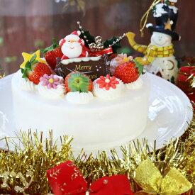 【ふるさと納税】【クリスマス限定】苺屋 クリスマスケーキ 生クリーム 5号【送料無料】 数量限定 スイーツ おやつ 家族で のし対応不可 包装対応不可 B-323