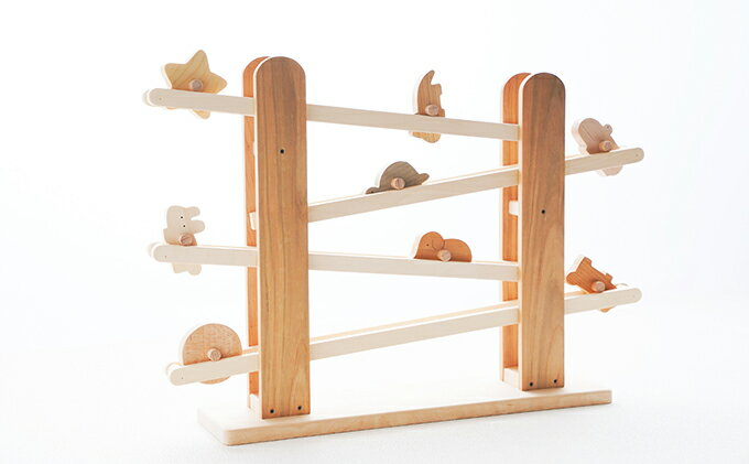 【ふるさと納税】ころころ動物 【木のおもちゃ・玩具・赤ちゃん用品・ベビー用品】