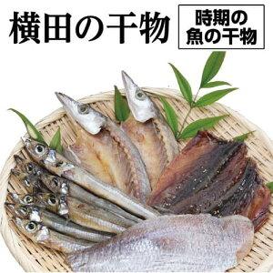 【ふるさと納税】横田の干物 <時期の魚の干物 サバ カマス 沖ウルメ シイラ タイ しらす など>
