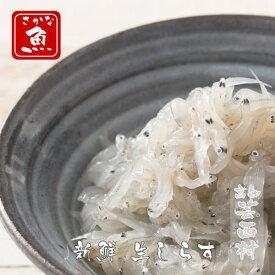 【ふるさと納税】生しらす【ドロメ】(100g×5P)タレ付(イワシ稚魚)【koyofr】【geiseiymt】