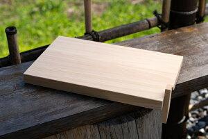 【ふるさと納税】大工さん手作りの檜まな板(40cm)