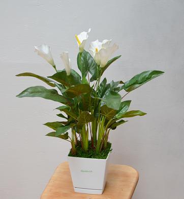 【ふるさと納税】カラーリリー(造花)