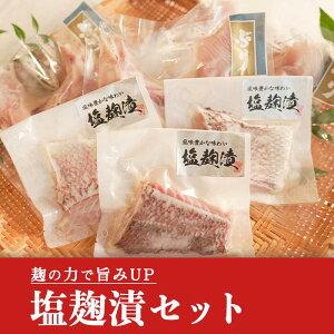 【ふるさと納税】土佐大月海産 塩麹干物セット