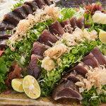 【ふるさと納税】[0984]土佐の藁焼鰹たたき(食べきりサイズ)