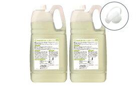 【ふるさと納税】シャボン玉台所用せっけん液体タイプ2.1L×2個(大容量用キャップ付き)