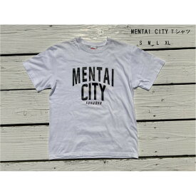 【ふるさと納税】MENTAI CITY Tシャツ S