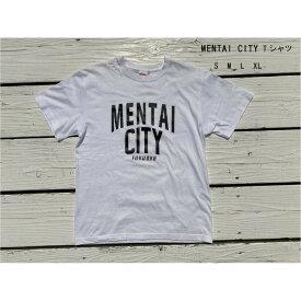 【ふるさと納税】MENTAI CITY Tシャツ XL