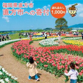 【ふるさと納税】直方市への寄付(返礼品はありません) 福岡県 直方市 返礼品なし 1口 1000円