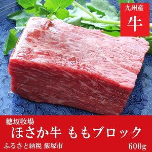 【ふるさと納税】【C-055】ほさか牛 モモブロック 600g