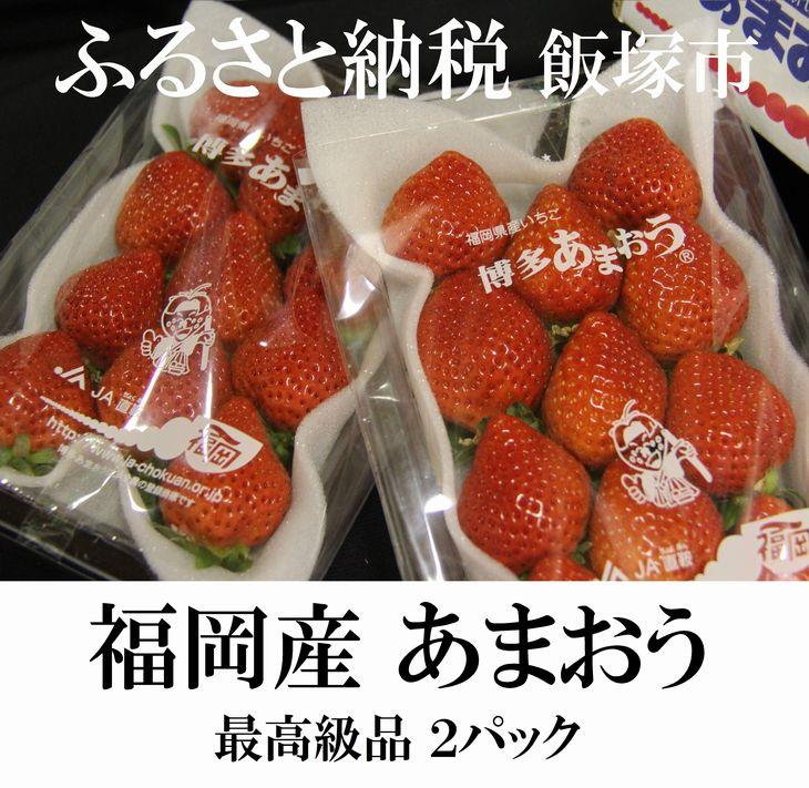 【ふるさと納税】【A154】青果市場厳選 福岡県特産!あまおう