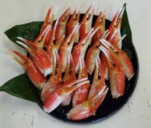 【ふるさと納税】【B5-025】魚市場厳選 ずわいがに爪 1kg