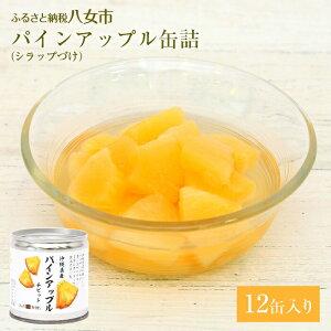 【ふるさと納税】パインアップルの缶詰 12缶セット パイン
