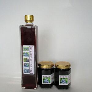 【ふるさと納税】地元産の果物「ブルーベリー」酢&ジャムセット