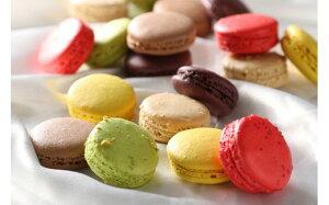 【ふるさと納税】サBA-017(おまけ付き)色とりどりマカロン18個(6種×3個ずつ)+1個【洋菓子工房クリクリ】