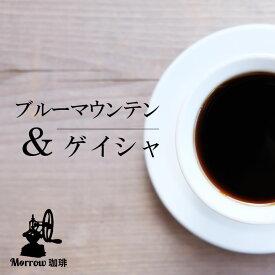 【ふるさと納税】自家焙煎 ブルーマウンテンNo.1&ゲイシャ(粉)【増量】