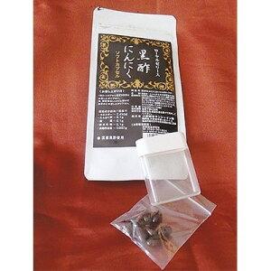 【ふるさと納税】ローヤルゼリー入黒酢にんにく(60粒×1パック)携帯ケース付【1086368】