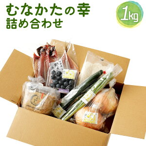【ふるさと納税】KA0265 宗像から全国の皆様へ 「むなかたの幸」の詰め合わせ 野菜 果物 米 干物 加工品 詰め合わせ セット 味噌 送料無料