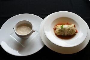 【ふるさと納税】自家製ロールキャベツ 2食・玄界灘魚ポタージュスープ2食_KA0156