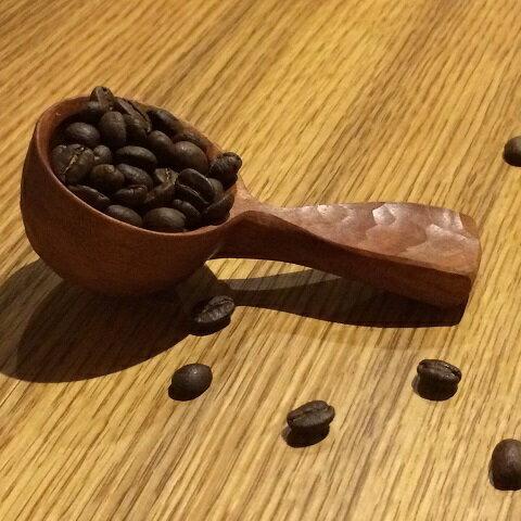 【受注生産】A505 手彫りの珈琲さじ(木材:チェリー)