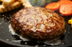 【ふるさと納税】A1107無添加・博多和牛100%ハンバーグ(ジャポネソース付)