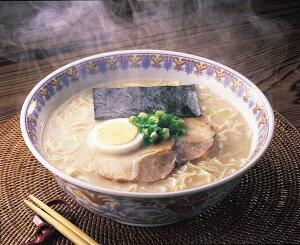 【ふるさと納税】福岡県産ラー麦 生ラーメンとんこつ味 10食_KA0532 送料無料