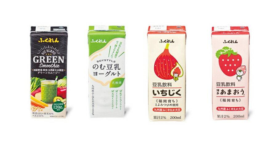 【ふるさと納税】A723 九州産大豆使用 豆乳3種+スムージー飲み比べセット