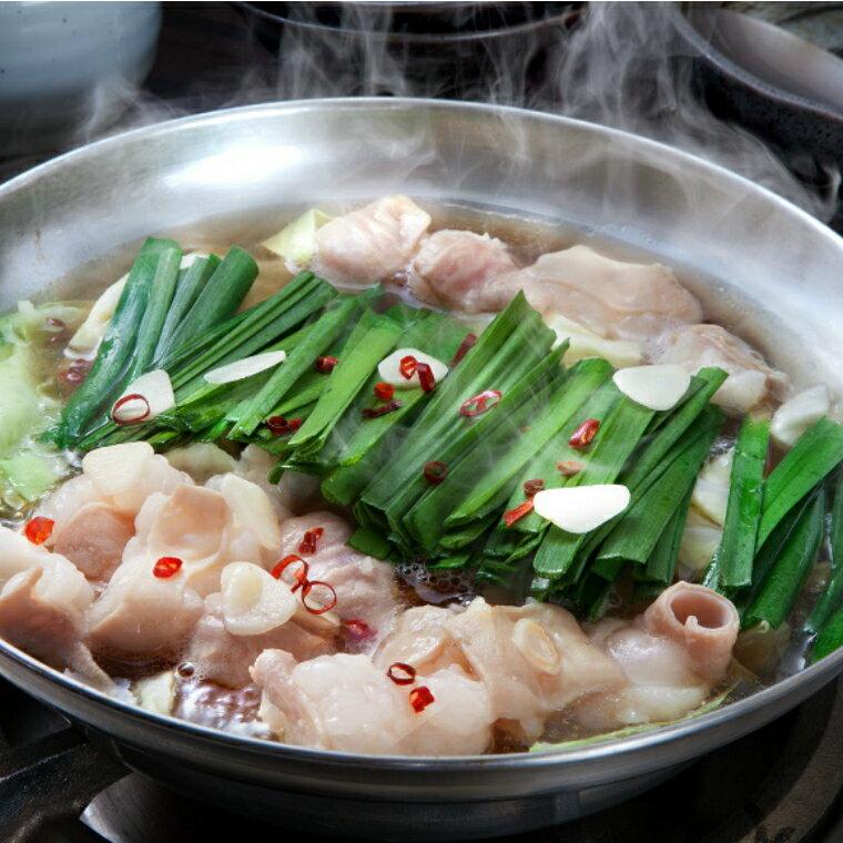 【ふるさと納税】特選「鶏家」のもつ鍋セット(3〜4人前)