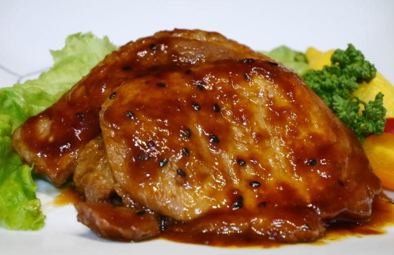 【ふるさと納税】お肉屋さんの「味噌豚ステ−キセット」(130g×6枚)