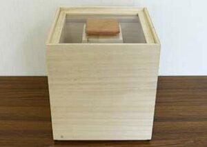 【ふるさと納税】米びつ(桐製)<5kgタイプ>