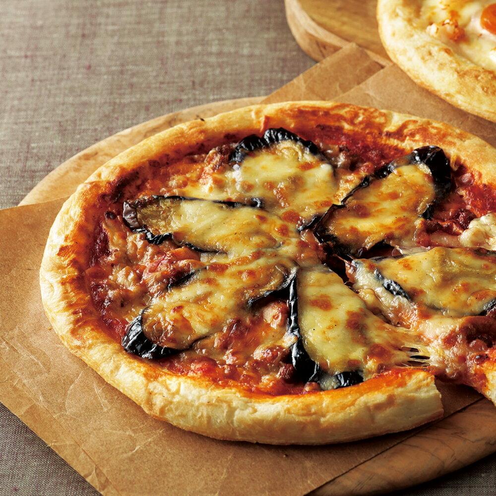 【ふるさと納税】】<ピザ×10枚>ピエトロのピザ「なすとひき肉の辛味トマトソース」(×10)