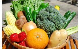 【ふるさと納税】むなかた旬のお任せセット 野菜 フルーツ 13品 詰め合せ セット 旬 果物 くだもの 冷蔵 国産 送料無料