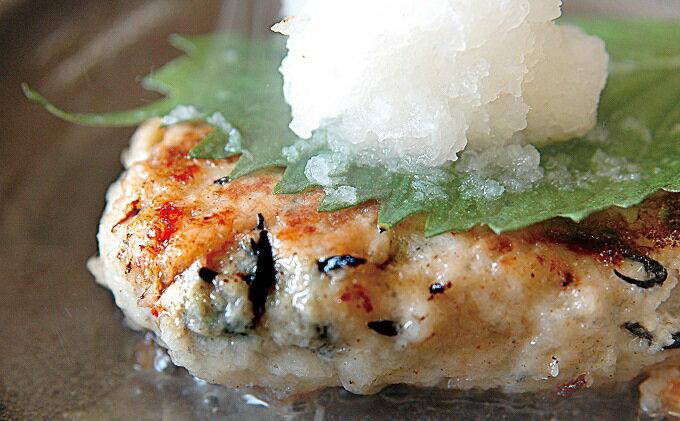 【ふるさと納税】赤鶏とひじきのヘルシーバーグ(5個入×3)【ぎょうざの山八】 【惣菜・冷凍・はんばーぐ】