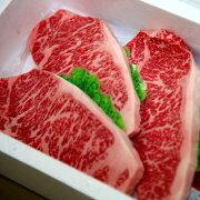 嘉穂牛(サーロインステーキ約150g×3枚)