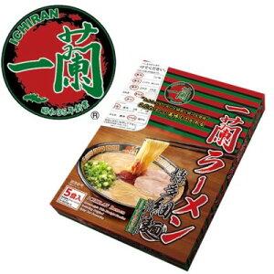 【ふるさと納税】一蘭ラーメン 博多細麺セット 【ラーメン/とんこつ】