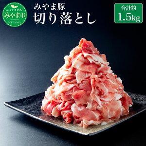 【ふるさと納税】みやま豚 切り落とし 1.5kg 約500g×3パック 1500g 生姜焼き 豚肉 小分け 肉 みやま市産 国産 九州 冷凍 送料無料