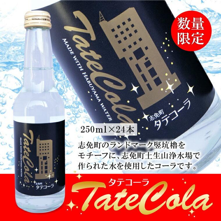【ふるさと納税】 タテコーラ 250ml×24本 瓶 志免町 コーラ びん 炭酸 炭酸飲料